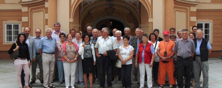 Mitgliederfahrt des Bauern- und Winzerverbands Daun zu Horsch Landmaschinen in Tschechien
